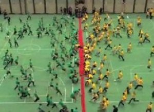 World Record Dodgeball Game