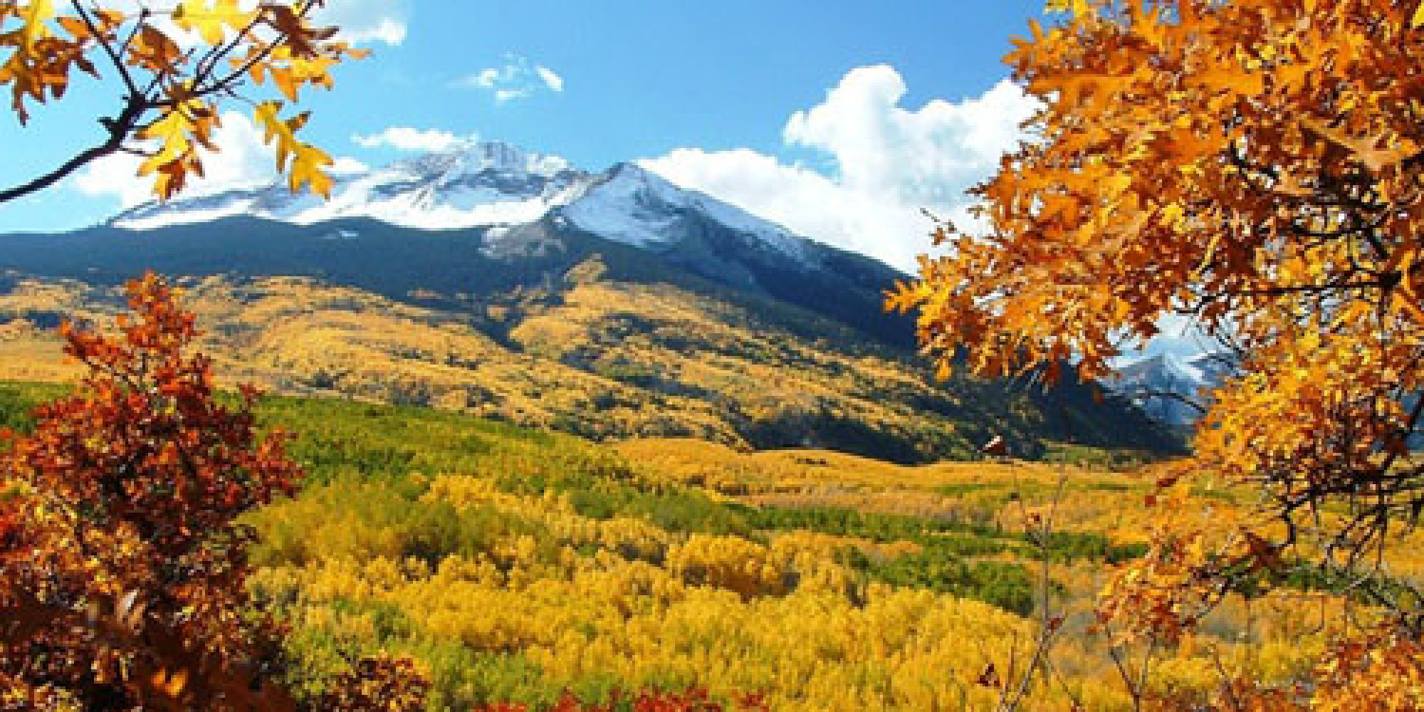 Best Places To See Fall Colors Huffpost