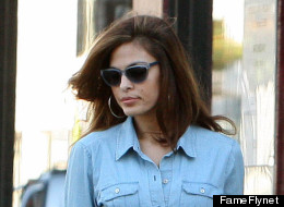 Eva Mendes Makes Casual Clothes Look Sexy
