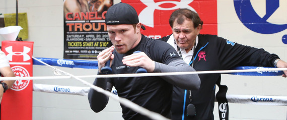 CANELO ALVAREZ TRAINING