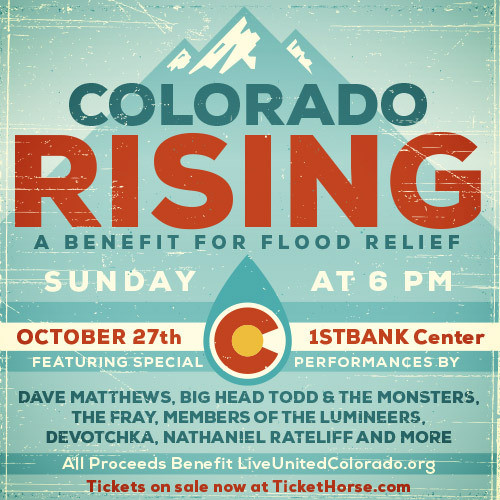 colorado rising flood concert