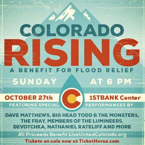 Denver News Flooding: 'Colorado Rising' Flood Relief Concert To Feature Dave
