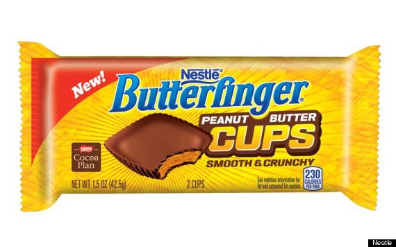 Butterfinger Peanut Butter Cup To Debut In 2014 | HuffPost  |Butterfinger Slogan