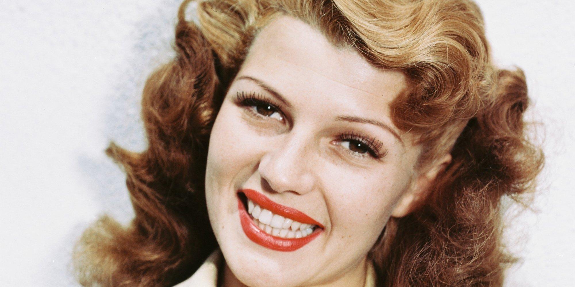 Rita Hayworth Natural Hair Color