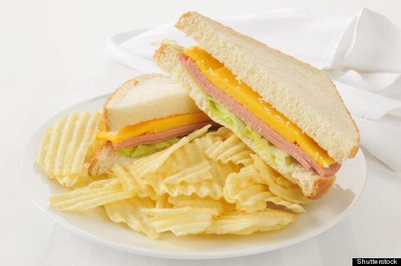 bologna sandwich
