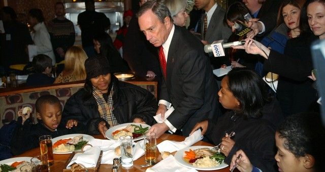 michael bloomberg homeless