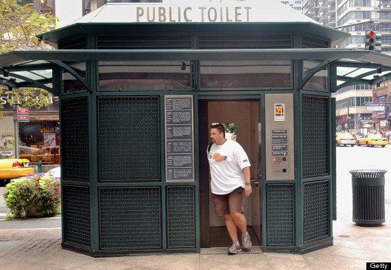 michael bloomberg bathroom