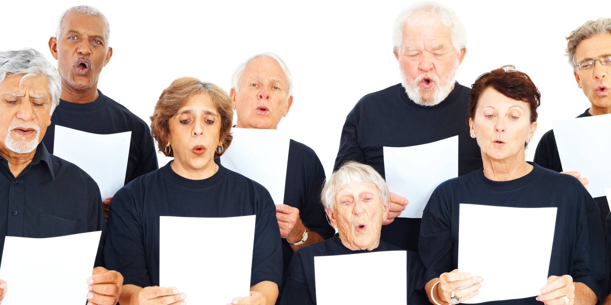 study to determine effects of singing in choirs on seniors