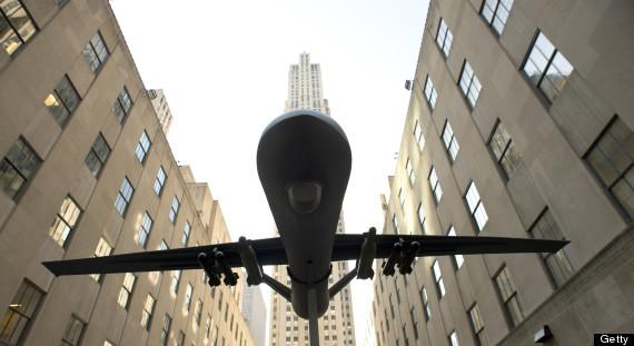 drones new york