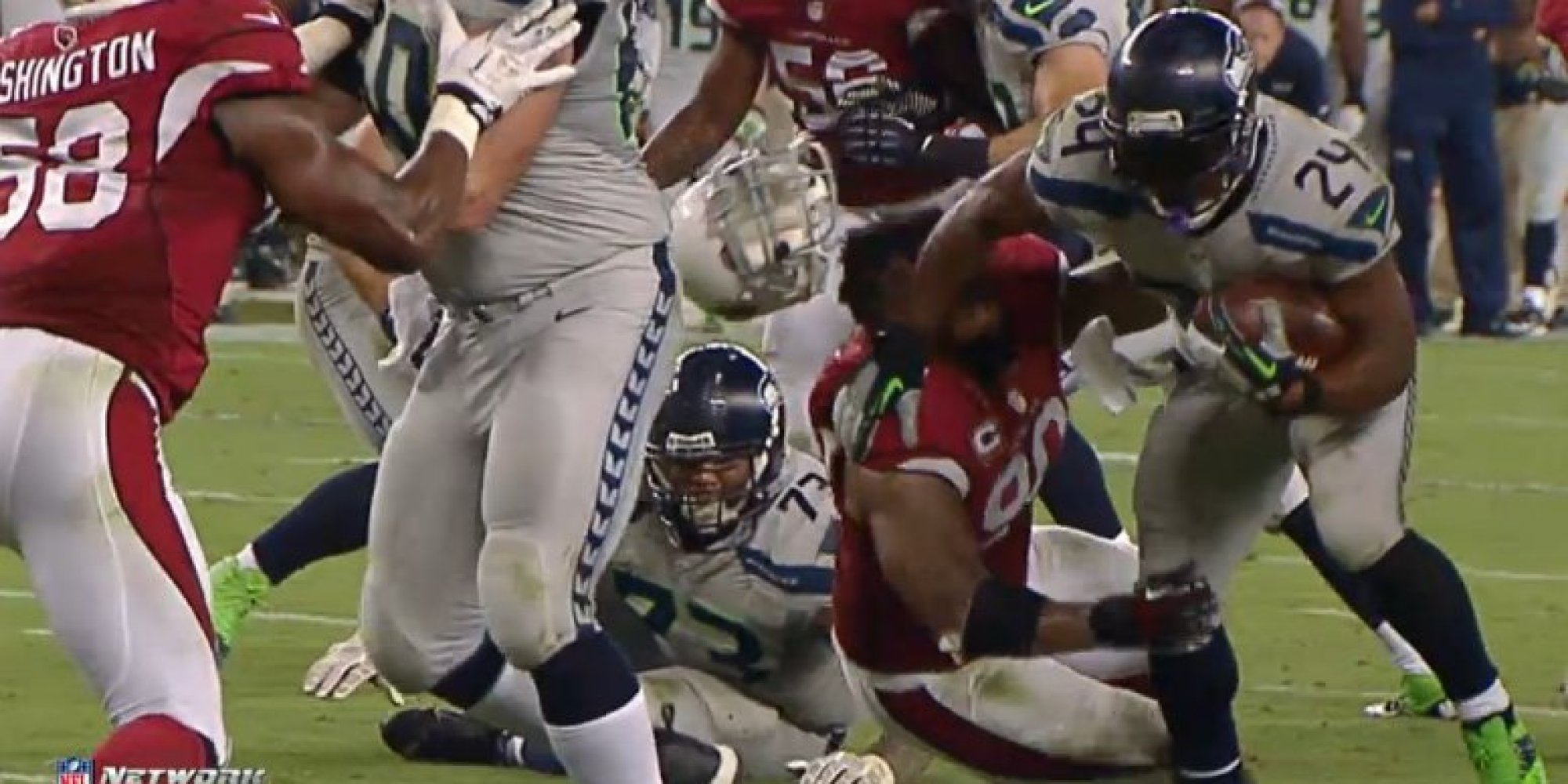 Beast Mode Marshawn Lynch Gif