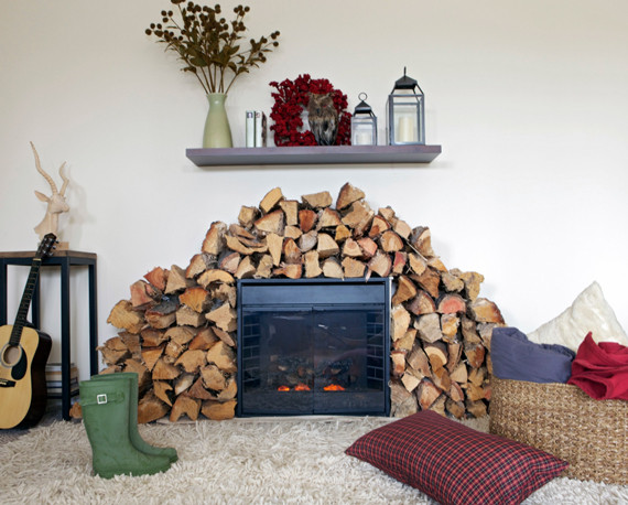 moveable fireplace