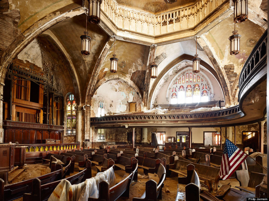 Detroit S Stunning Architectural Ruins And Why