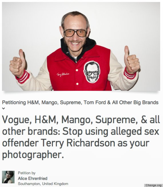 terry richardson change org
