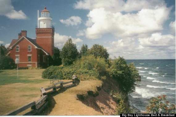 Upper Peninsula Michigan Lighthouse Bed And Breakfast