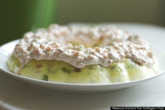jello shrimp frosting