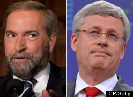 Mulcair, Harper Face Off Over Robocalls