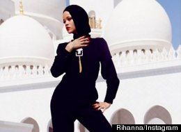Rihanna's Mosque Snaps Spark Controversy