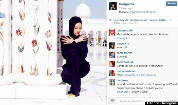 Exterior: Sheikh Zayed Mosque Rihanna Photo Shoot: Muslims React To