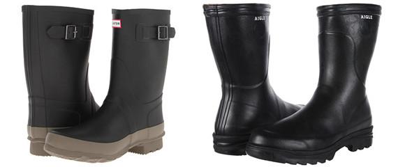 men shoes rain