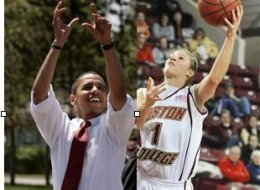 Obama Brown Hoops