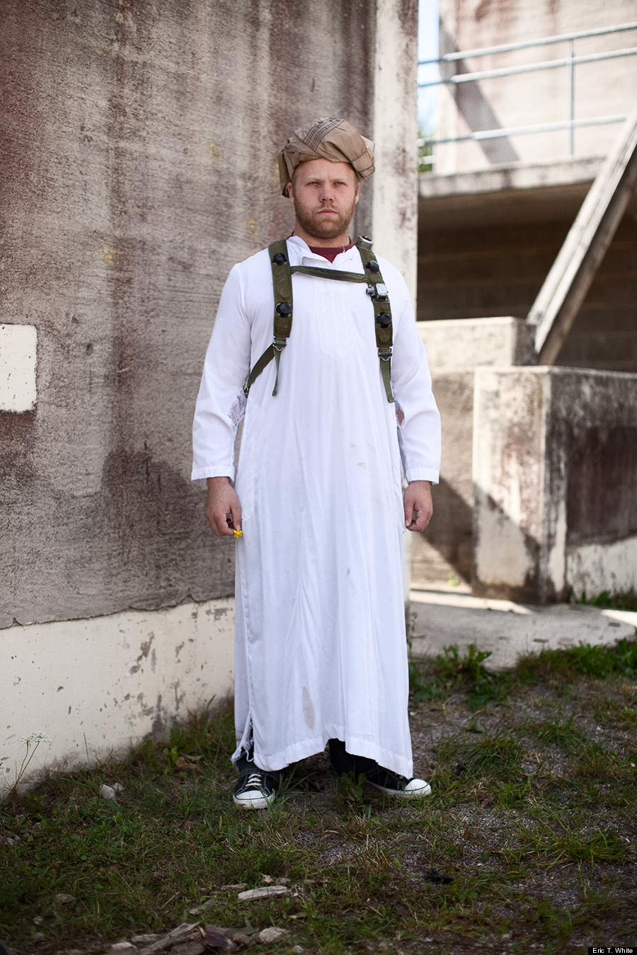 White Men Dressed As Afghan Citizens Reveal The Surreal