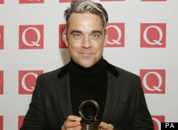 Q AWARDS: Could Robbie Williams Sound Any MORE Ungrateful?