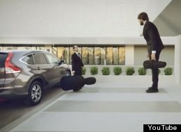 WATCH: Honda's New 'Optical Illusion' Advert Is Really Very Cool Indeed