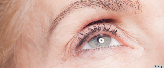 woman under eye