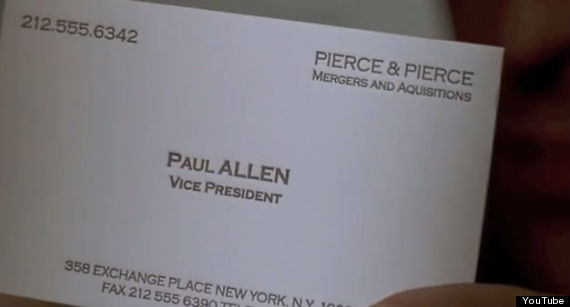 The american psycho typo that somehow no one noticed until now american psycho typo paul colourmoves