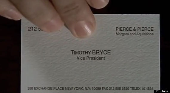 The 'American Psycho' Typo That Somehow No One Noticed Until Now ...