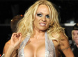 Pamela Anderson's Barely There Silver Jumpsuit (PHOTOS)