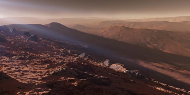 inside planet mars - photo #9