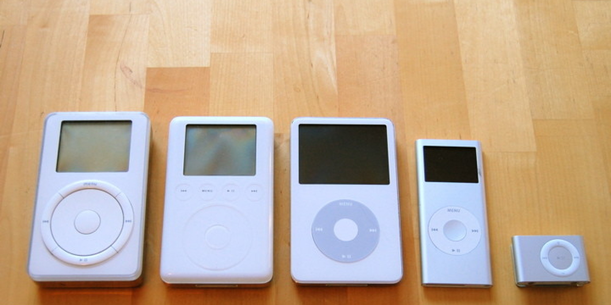 Happy birthday ipod and good bye the huffington post