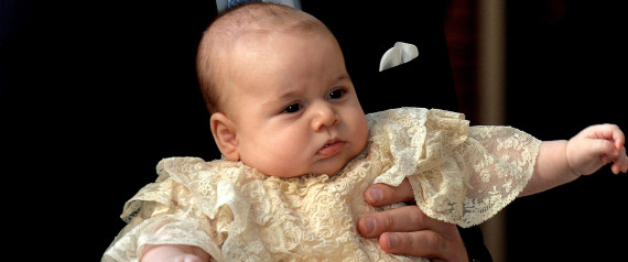 Prince George S Christening Brings Adorable Photos Chic