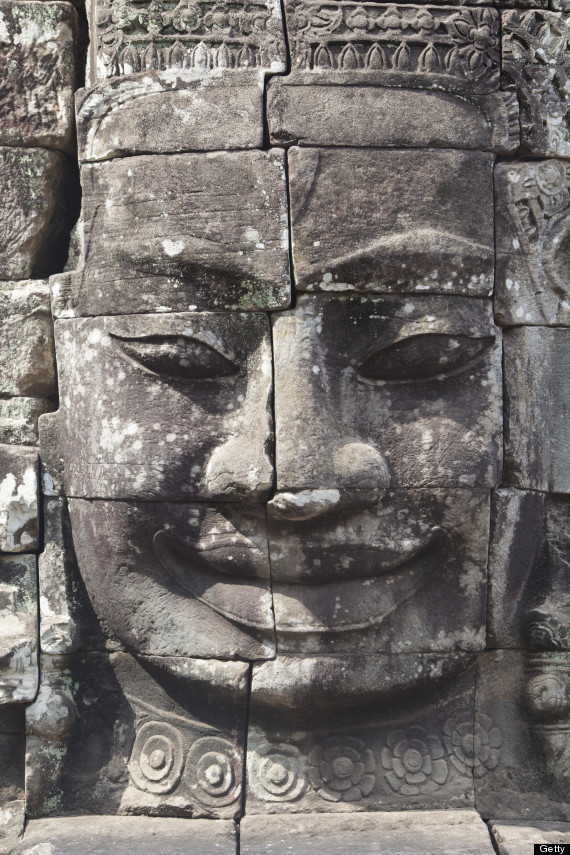 The most mysterious stone carved faces that ever lived