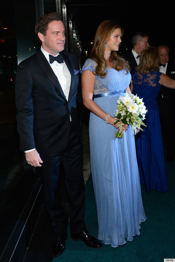 Princess Madeleine Wears The Most Princess-y Maternity Gown Ever ...