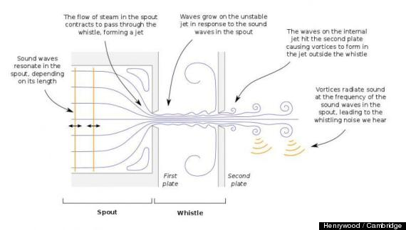 why do kettles whistle? science has an answer huffpostHow Does A Whistle Work Diagram #6