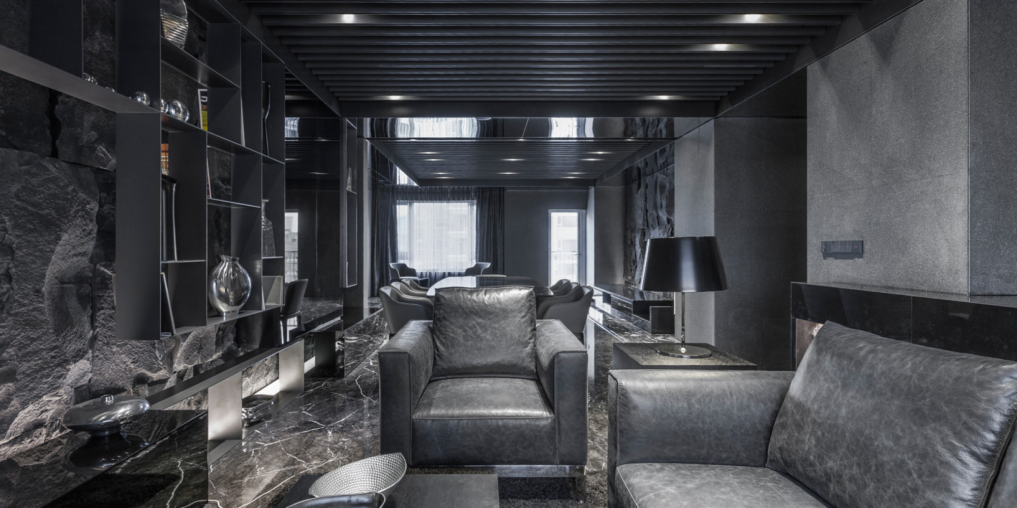 All black interior color palette is surprisingly for All blacks interiors