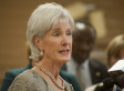 Kathleen Sebelius Promoting Health Law In Phoenix Amid Calls For Resignation