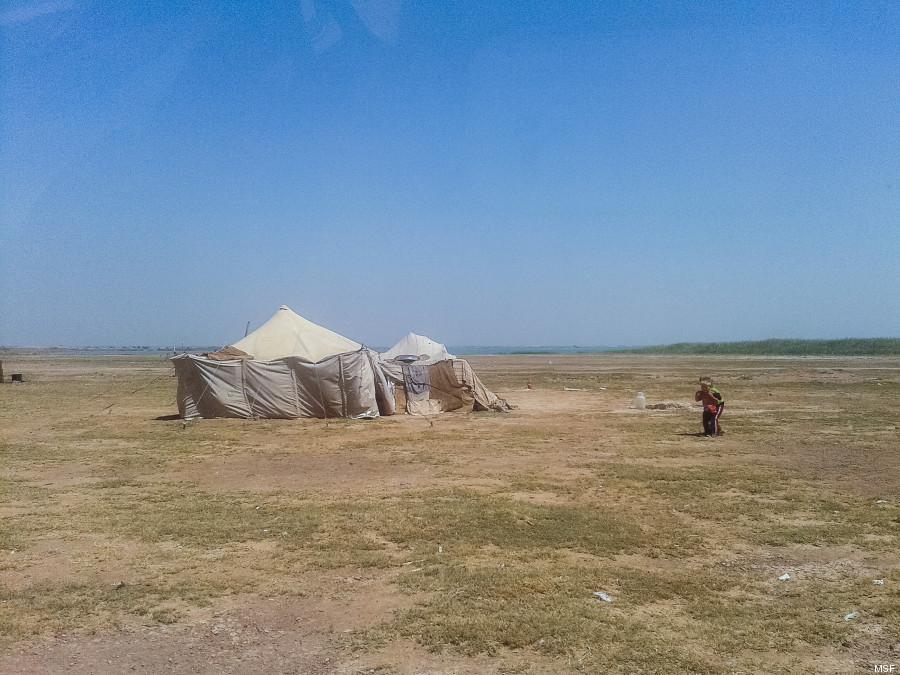 campamento siria