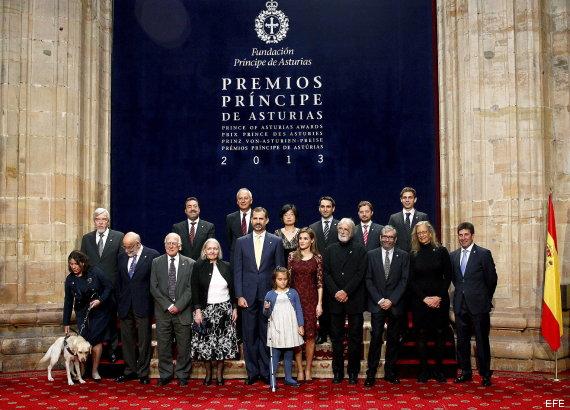 posado principes asturias 2013