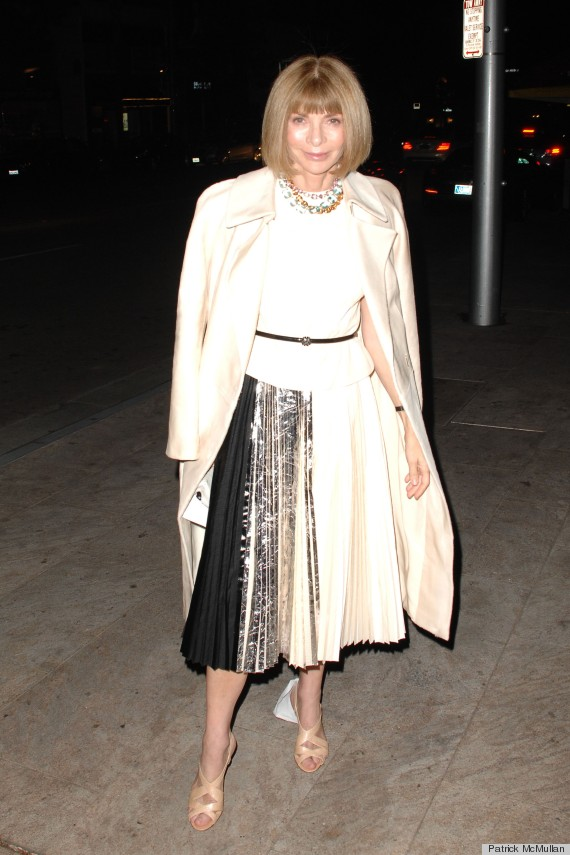 Anna Wintour Tries Rooney Mara S Sexy Look Who Wore It