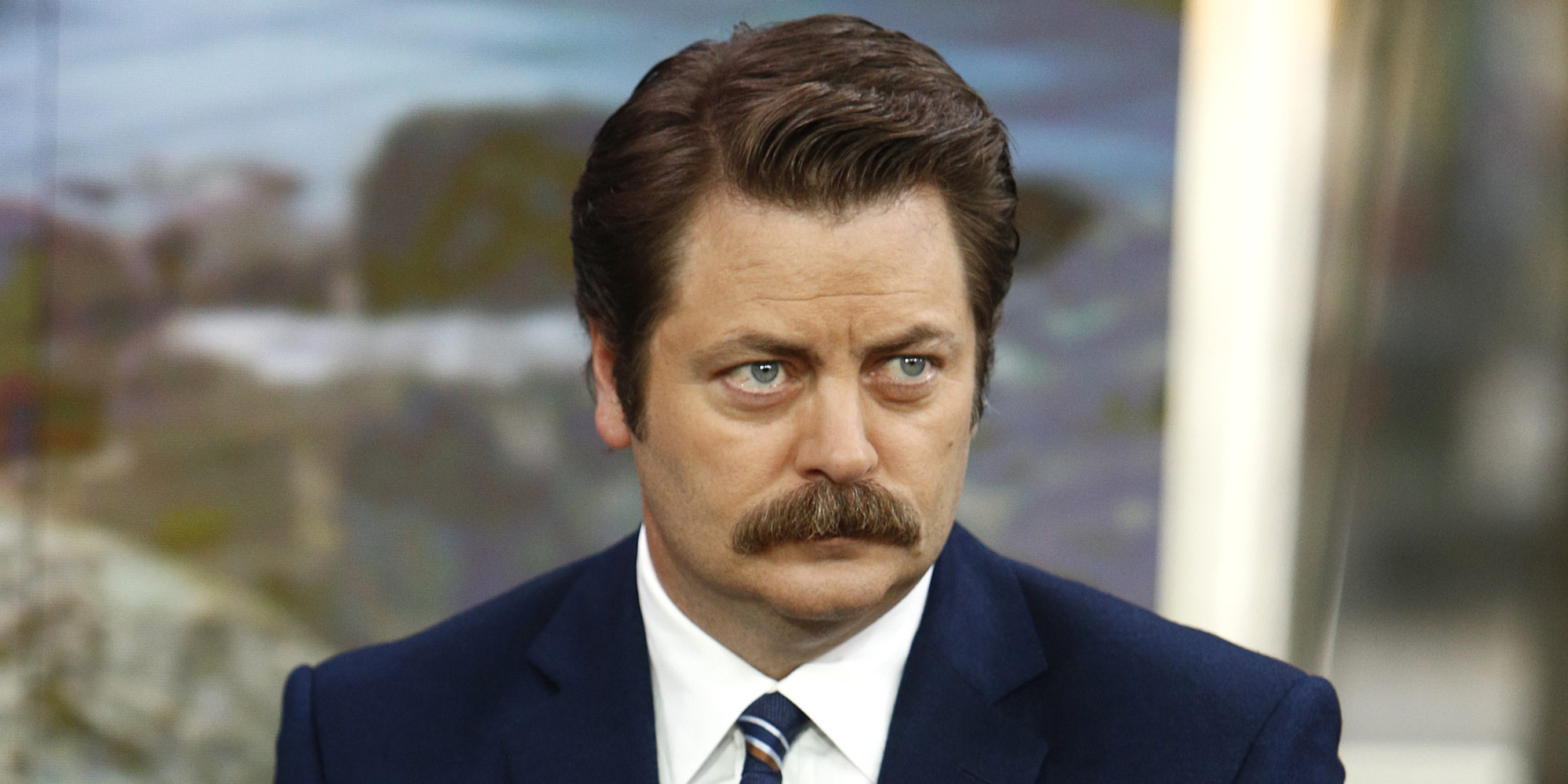nick offerman whiskey new year