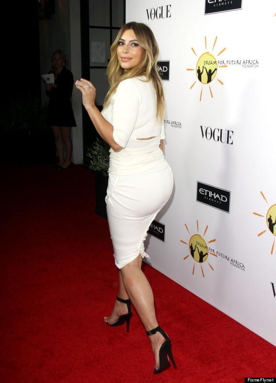kim kardashian tight skirt