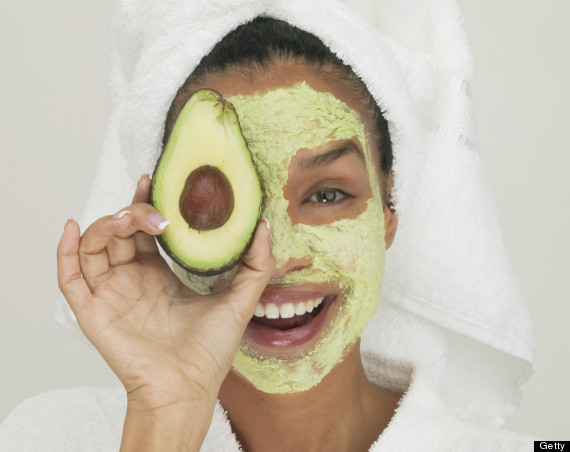 facial avocado