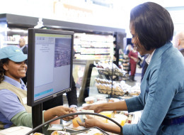 Michelle Goes Grocery Shopping With Tim Geithner And Tom Vilsack (PHOTOS, POLL)