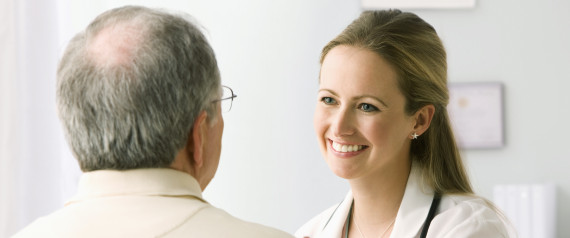 OLDER PERSON WITH DOCTOR