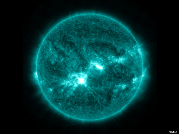 Major Solar Flare Erupts From Active Sunspot In New NASA ...