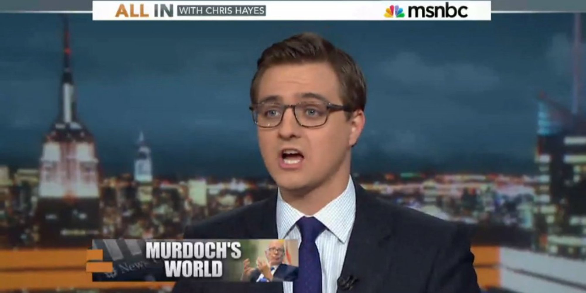 Chris Hayes On Fox News: 'They Go Nuclear On Everything ...