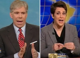 David Gregory Rachel Maddow